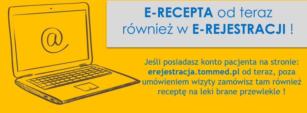 E-recepta dostępna w e-rejestracji