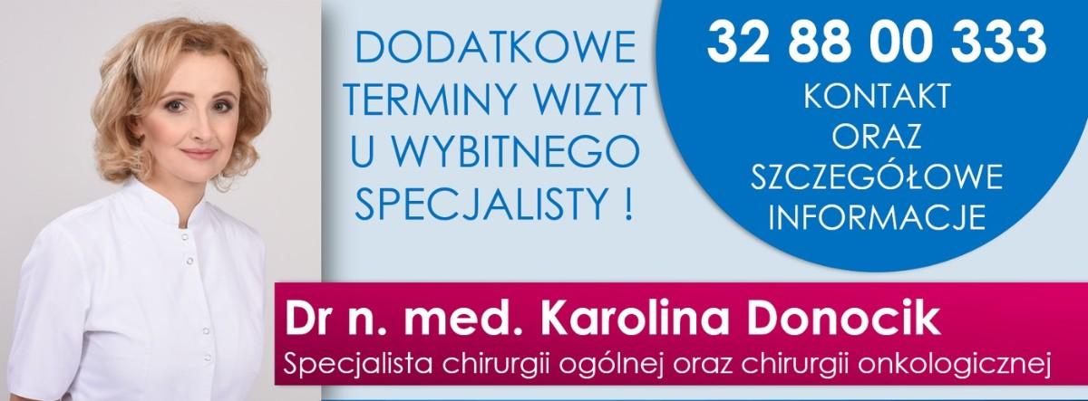 dr n. med. Karolina Donocik - chirurg plastyczny